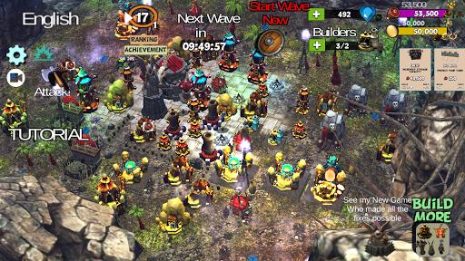 ☣️ Clash Of Orcs ⛺️ City Building Defense War TD  screenshots 3