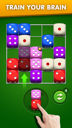Dice Puzzle 3D-Merge Number game  screenshots 5