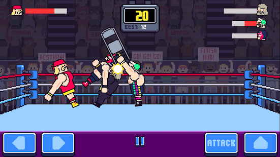 Rowdy Wrestling Screenshot