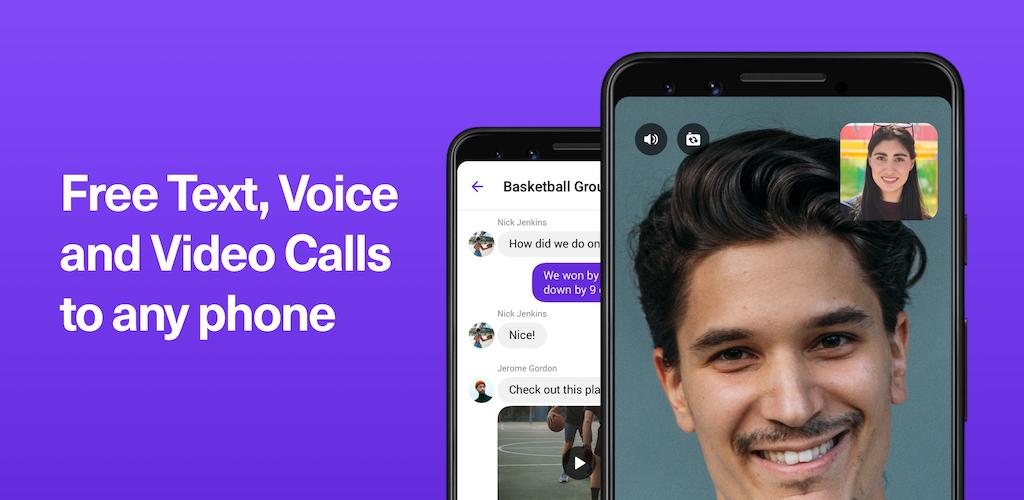 TextNow: Free US Calls & Texts poster 0