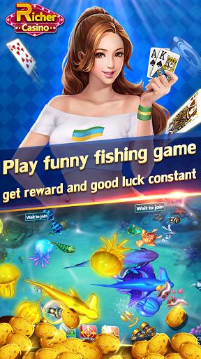 Rummy TeenPatti Slots Fishing - Richer Casino  screenshots 4