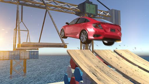Civic Car Parking And Driving screenshots 2