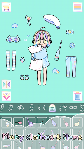 Pastel Girl : Dress Up Game 2.5.3 Screenshots 6