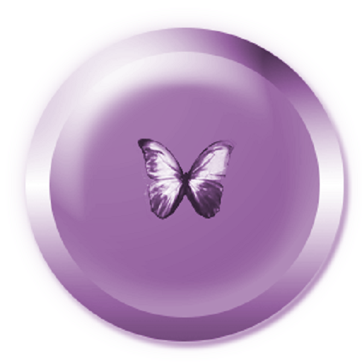 Soft Butterfly Clock Widget For PC Windows (7, 8, 10 and 10x) & Mac Computer