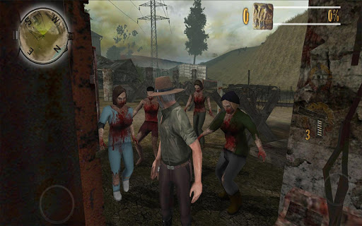 zombie fortress evolution: dino screenshot 2
