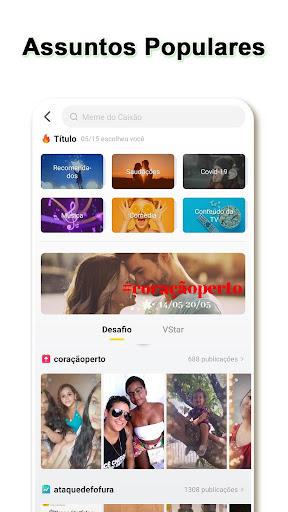 VStatus - Compartilhe Vu00eddeos, Baixe Status  Screenshots 3