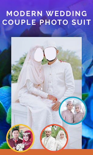 Modern Muslim Wedding Couple Photo Suit 1.3 Screenshots 4