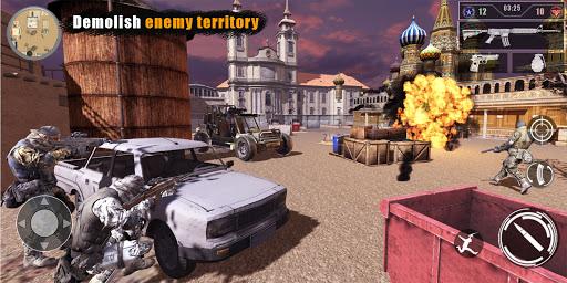 Code Triche Gun games: Army war games - DSD APK MOD  (Astuce) screenshots 1