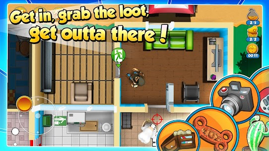 Robbery Bob 2 MOD (Unlimited Coins) APK for Android 3
