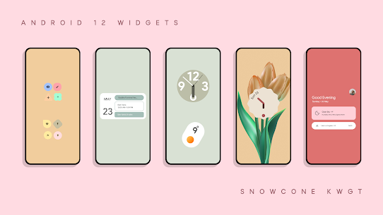 Snow Cone For KWGT Pro (MOD APK, Paid/Patched) v5.0 4