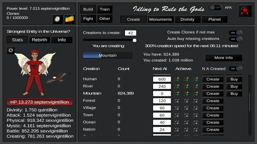 Idling to Rule the Gods 3.43 screenshots 7