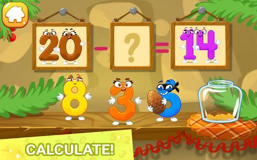 Learning numbers for kids, count 123, math games!  screenshots 2