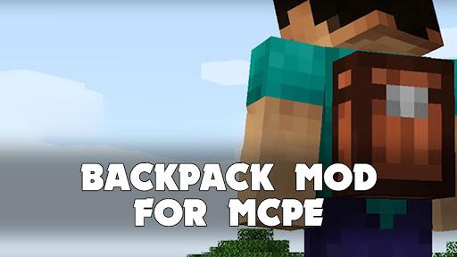 Backpack Mod for Minecraft PE screenshots 1