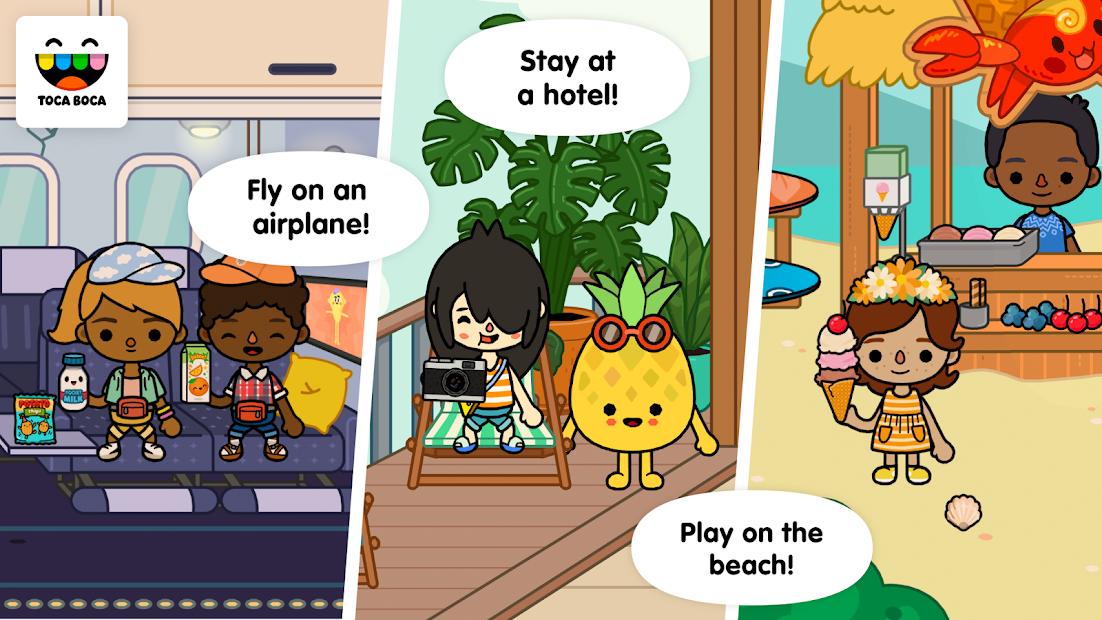 Toca Life: Vacation Android App Screenshot