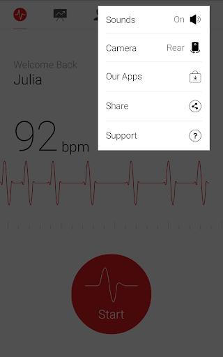 Cardiograph - Heart Rate Meter 4.1.3 Screenshots 7