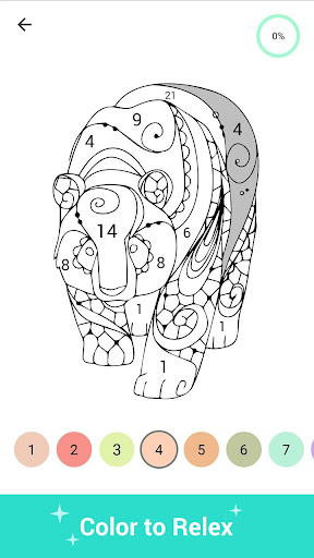 Paint Color - Paint color by number, coloring book 3.2 screenshots 4