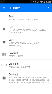 QR & Barcode Scanner 2.2.12 Screenshots 6