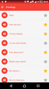 Speak English communication Screenshot