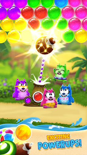Bubble Shooter - Beach Pop Games androidhappy screenshots 2