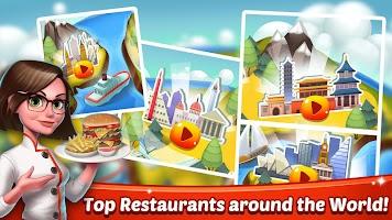Cooking World Girls Games & Food Restaurant Fever