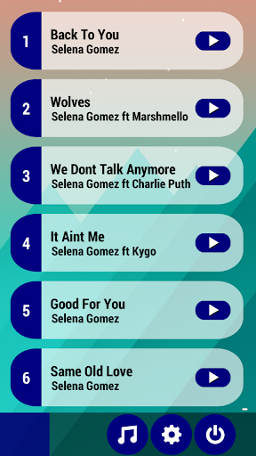 Selena Gomez Piano Tiles Game 10 screenshots 2