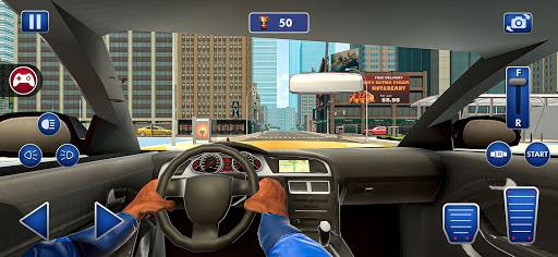 Car Driving School Simulator 2021: New Car Games screenshots 9