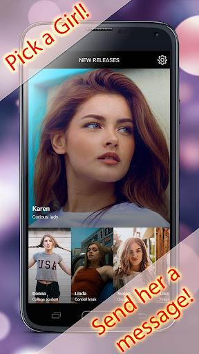 My Virtual Girlfriend Simulator - Texting Game  Screenshots 1