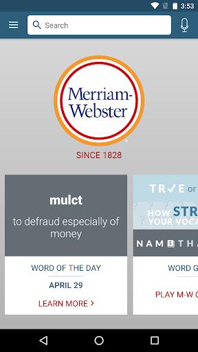 dictionary - m-w premium screenshot 1