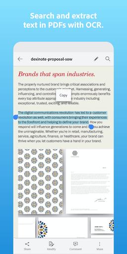 Adobe Scan: PDF Scanner with OCR, PDF Creator  screenshots 5