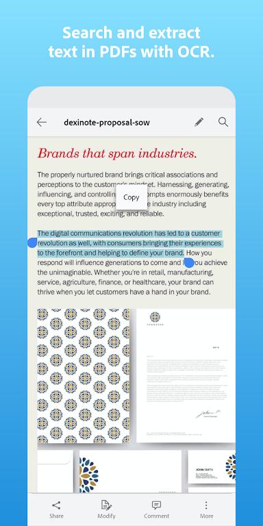 Adobe Scan: PDF Scanner with OCR, PDF Creator  poster 4