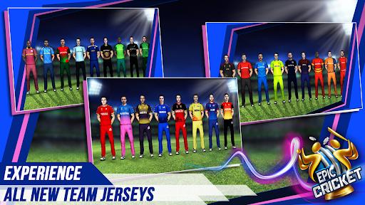 Epic Cricket - Big League Game  APK MOD (Astuce) screenshots 3
