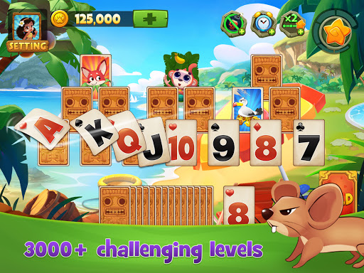 Solitaire TriPeaks Adventure - Free Card Game 2.3.4 screenshots 6