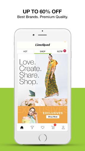 LimeRoad Online Shopping App for Women, Men & Kids 6.2.9 screenshots 1