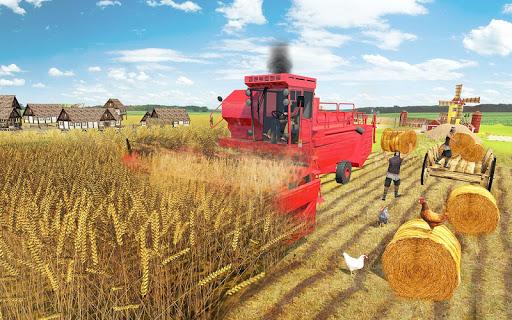 Real Farming Tractor Farm Simulator: Tractor Games screenshots 4