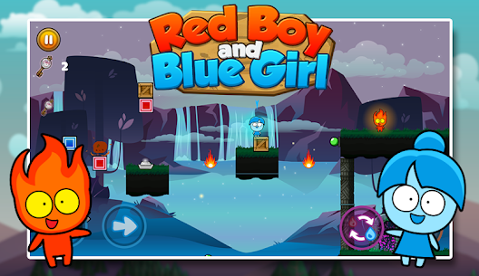 Red boy and Blue girl – Forest Temple Maze 2.19 Mod APK (Unlimited) 3