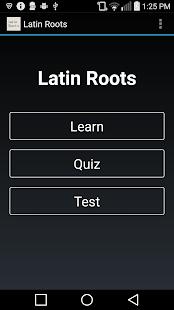 Latin Root Words