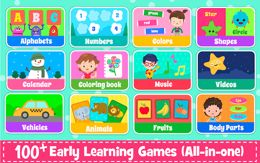 Kids Preschool Learning Games - 150 Toddler games 6.3 screenshots 1