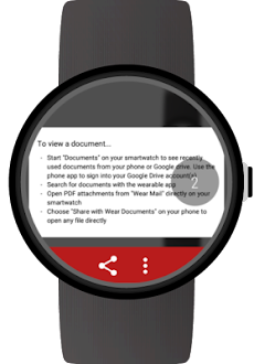 Documents for Wear OS (Android Wear)のおすすめ画像4