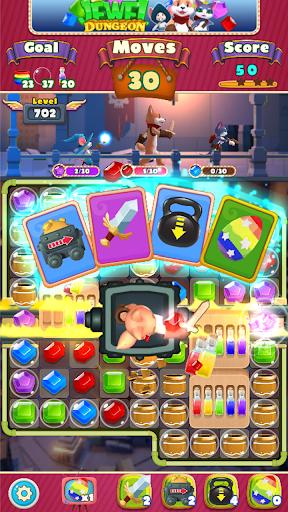 Jewel Dungeon - Match 3 Puzzle 1.0.99 screenshots 2