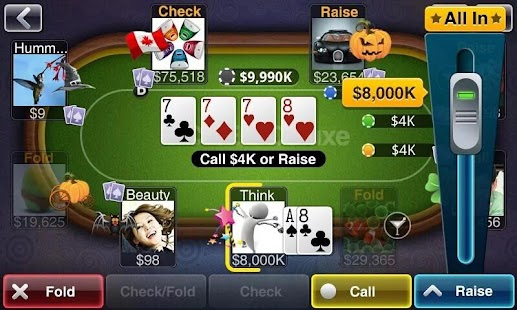 Texas HoldEm Poker Deluxe Screenshot