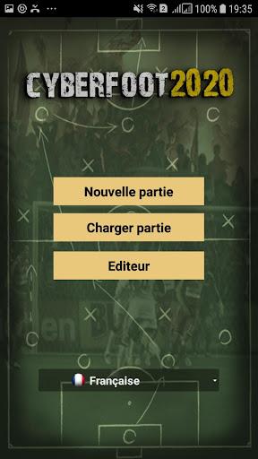 Télécharger Cyberfoot Football Manager  APK MOD (Astuce) screenshots 1