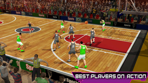PRO Basketball Games: Dunk n Hoop Superstar Match screenshots 1