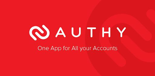 Logo de Authy, sistema de doble autenticación (2fa). Utilizado como portada para el articulo de nuestra web.
