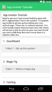 App Inventor 2 Tutorials FREE Screenshot