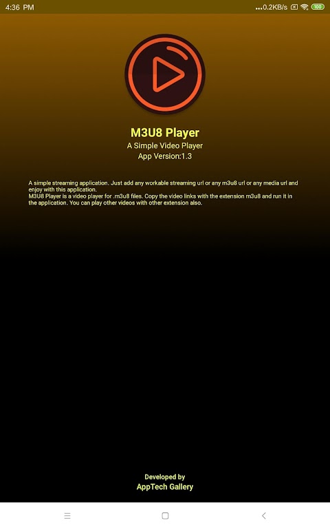 m3u8 Player - A simple video player for m3u8 poster 9