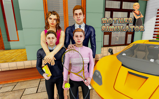 Dream Mother Simulator: Happy Family Life Games 3D screenshots 10