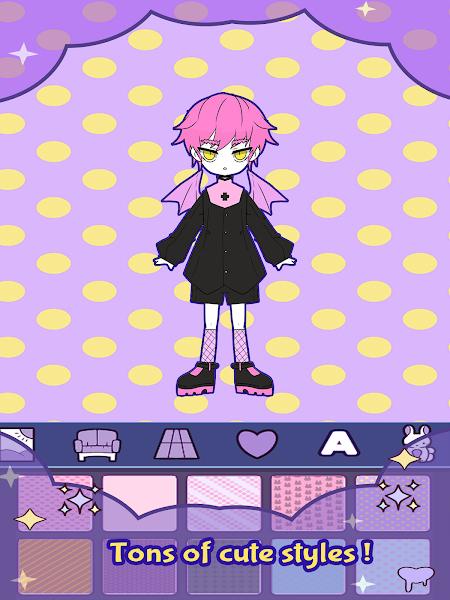 BatDoll Dress up doll boy - avatar character maker