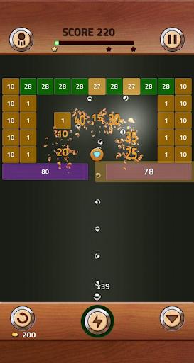 Brick Breaker Wood 1.0.0.11 screenshots 9
