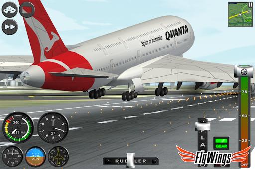 Flight Simulator 2015 FlyWings Free 2.2.0 screenshots 8