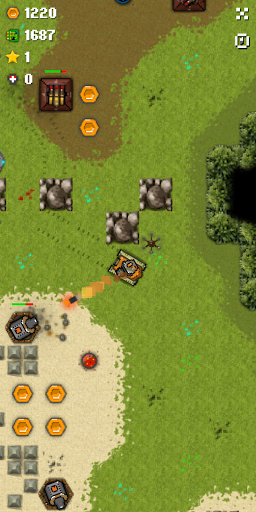 Tank story 3 - Offline tank game apktreat screenshots 2